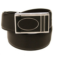 35mm - Bellissimo Genuine Full Grain Leather Belt - Coffee Brown