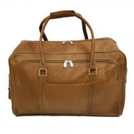 Piel Half-Moon Zipper Leather Bag