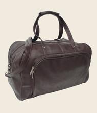 Piel Deluxe Leather Weekend Duffel Bag