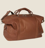 Piel Large Carry-On Leather Weekend Satchel