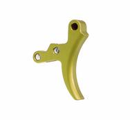 Aluminum Trigger Semi-Gloss Green