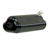 T Grip Pump Handle - Semi Gloss Silver