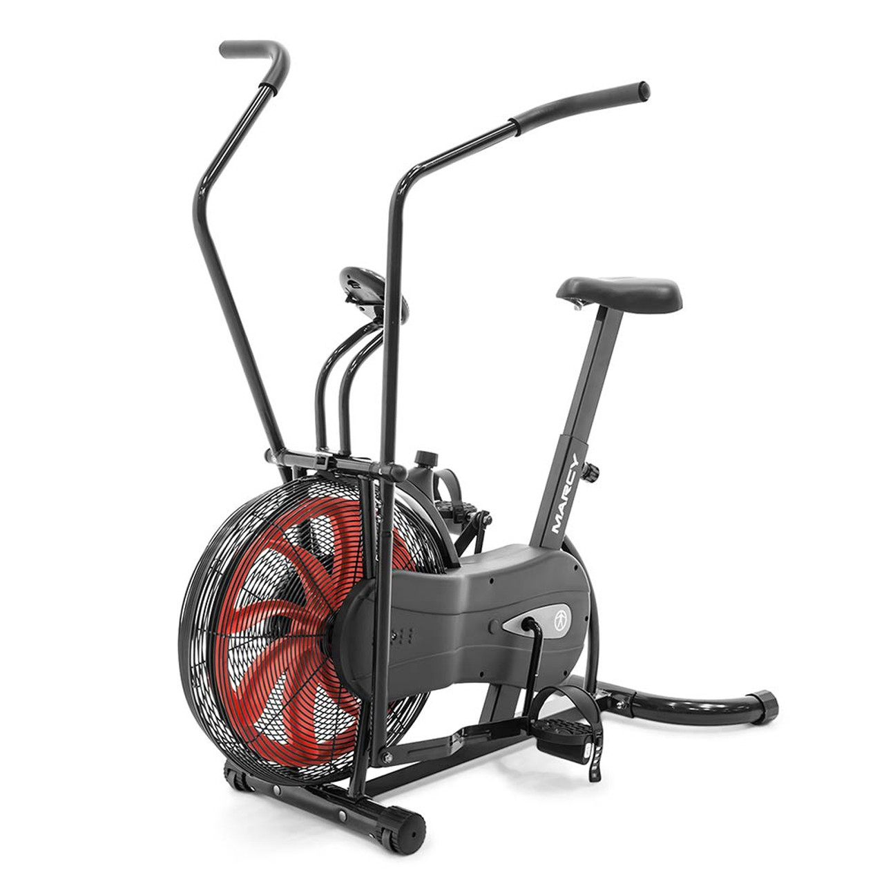fan exercise bike. the marcy fan bike ns-1000 is a convenient low-impact method of getting exercise