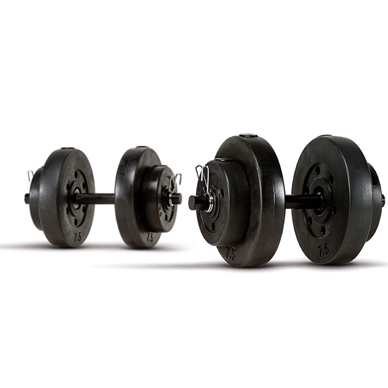 40 Lb Vinyl Dumbbell Set Marcy Vb 40 Heavy Duty Vinyl
