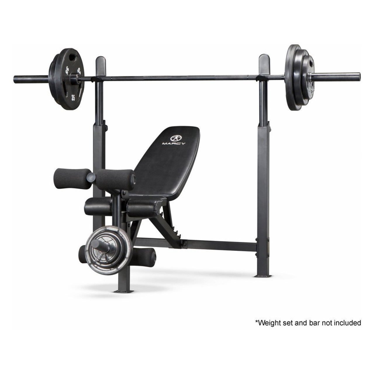 Marcy Olympic Bench With Rack Mwb 732 Quality Strength Products