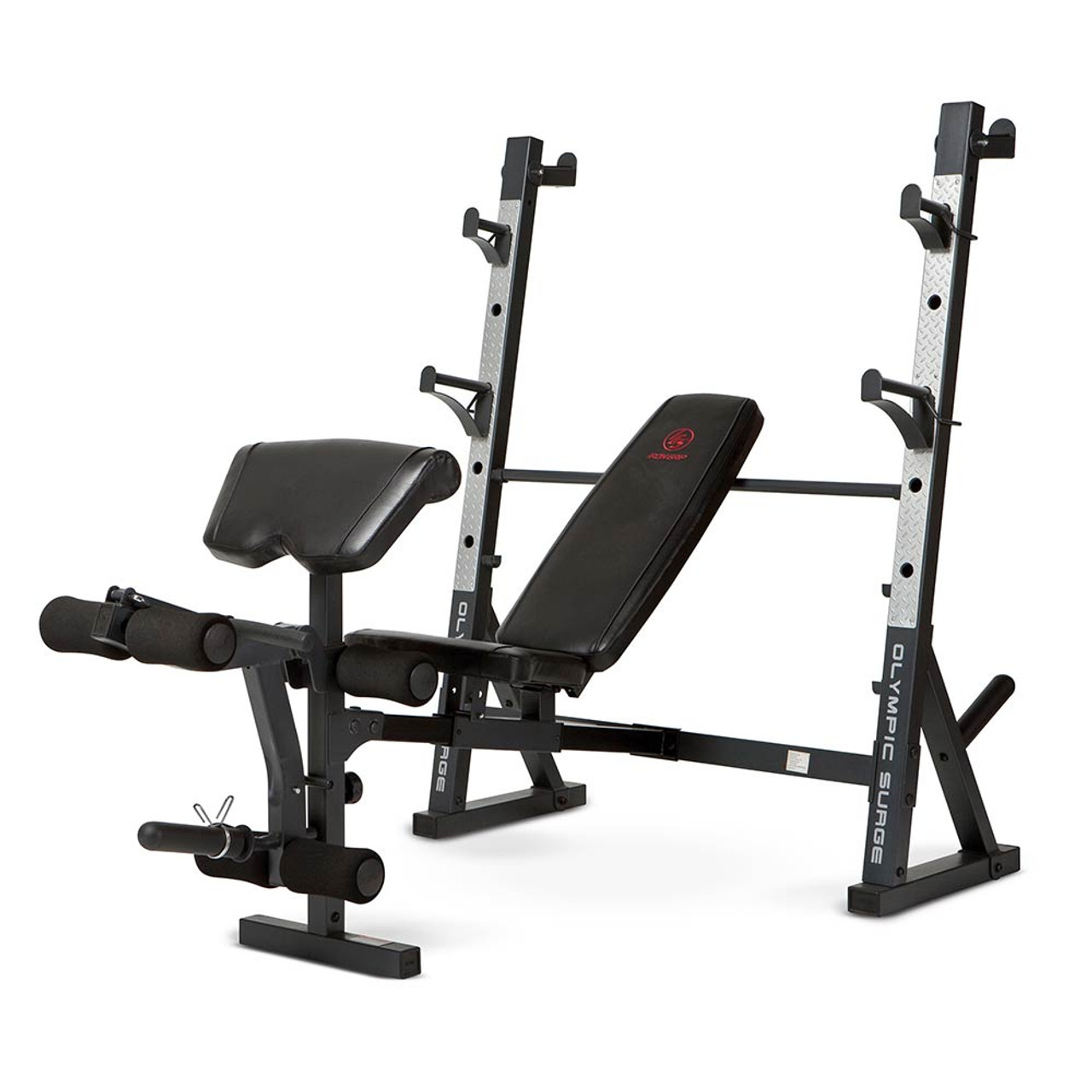 Marcy olympic weight bench md 857 high quality heavy duty strength products Weight bench and weights