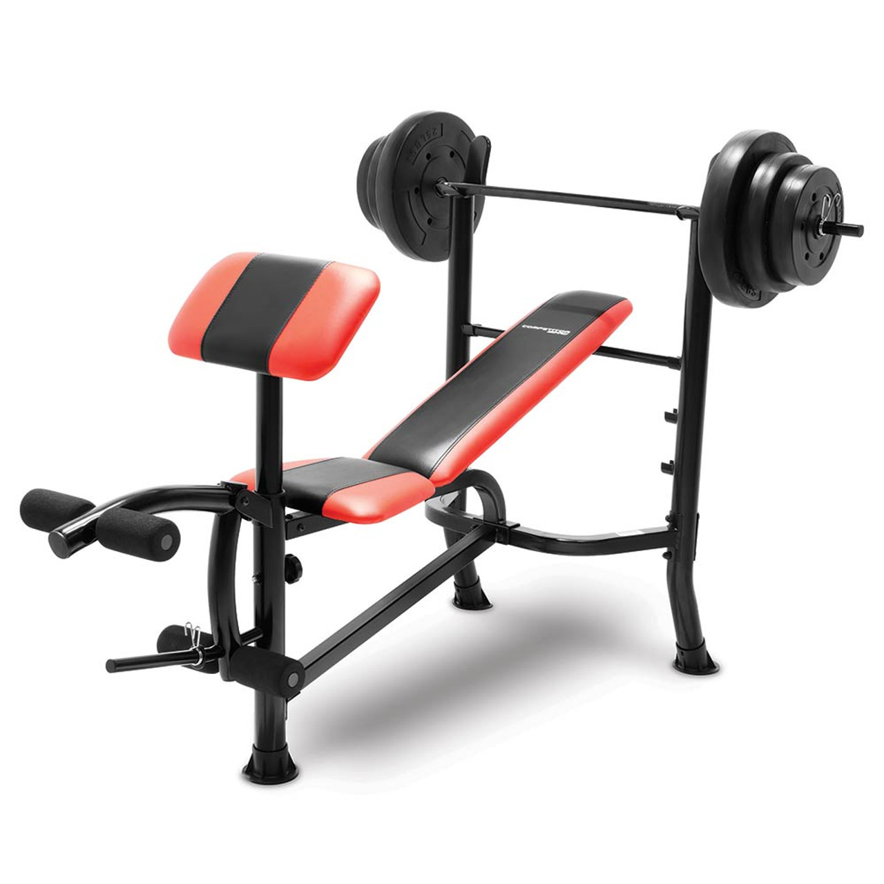 Competitor bench 100 lb weight set cb 2982 quality strength Bench weights