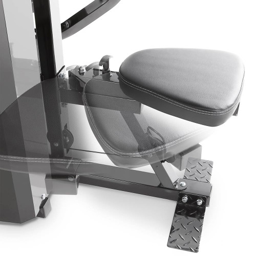 The Marcy Pro Two Station Home Gym PM-4510 includes an adjustable seat