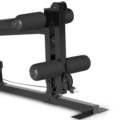 The Marcy 100 lb Stack Home Gym MKM-81030 has a leg developer for a full body workout