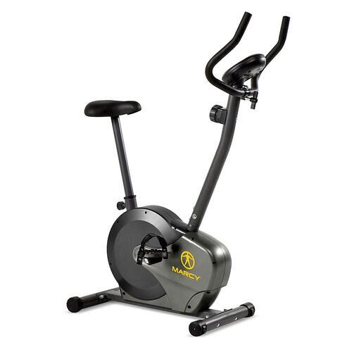 The Upright Magnetic Bike NS-714U by Marcy brings the best high intensity cardio conditioning to your home gym