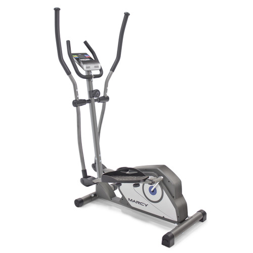 The Marcy NS-40501W Elliptical Trainer has a beautiful sleek design that looks perfect in any home