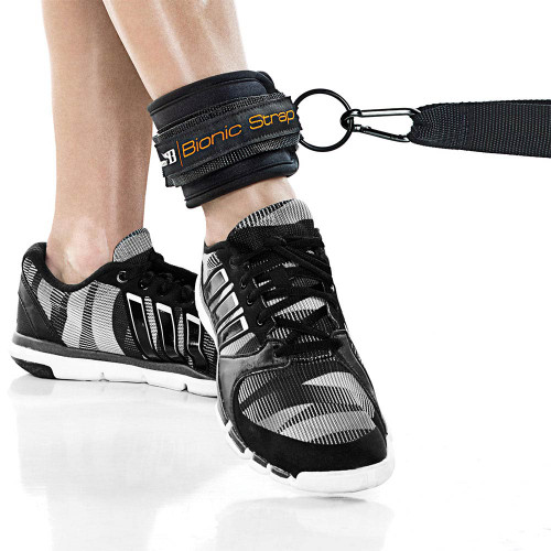 The Bionic Body Ankle and Wrist Strap will bring variety to your resistance band workout