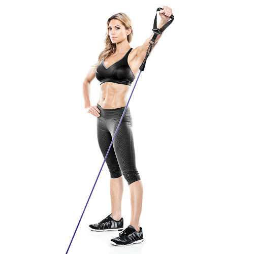 Heavy Duty Bionic Body 40 lb Resistance Band in use by Kim Lyons