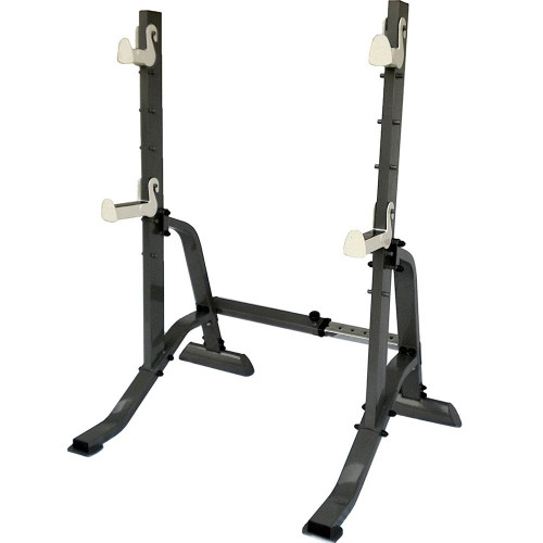The Marcy Adjustable Squat Rack MWB-70100 is essential to build the best home gym