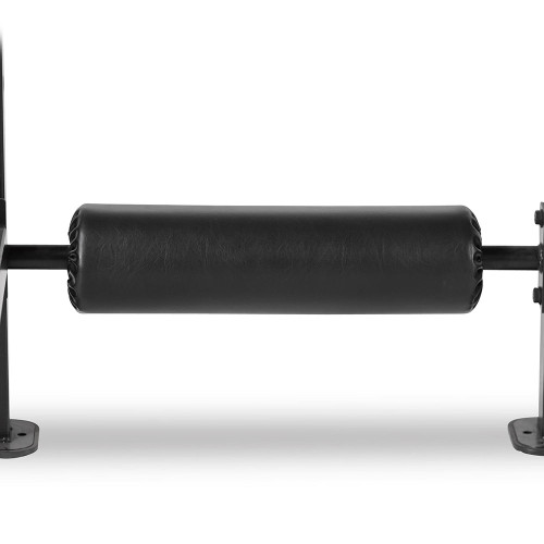 The Steelbody T-Rack STB-98001 includes a roller to stabilize your high intensity workout
