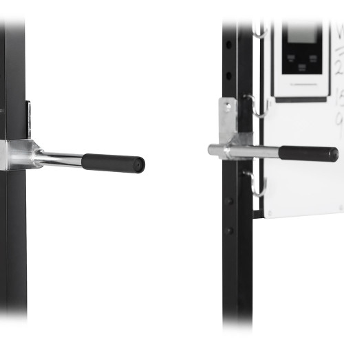 The Steelbody T-Rack STB-98001 includes dip bars