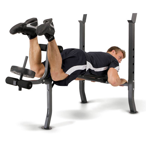 Marcy Weight Bench 80lb Weight Set | MD-2080