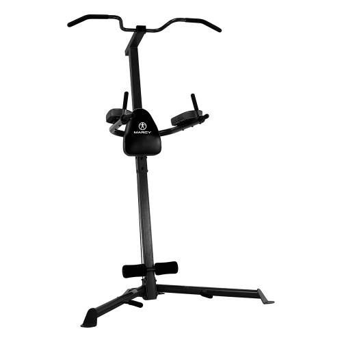 Easy Home Exercise Equipment: A Power Tower Builds Abs