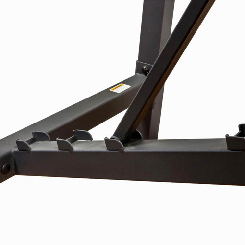 The Olympic Bench Competitor CB-729 is adjustable - workout in flat incline and military press positions