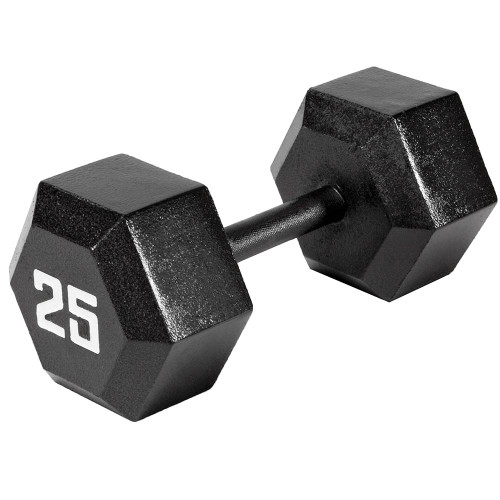 25 Lbs Dumbbell Set: Marcy 25 LB. ECO Hex Dumbbell