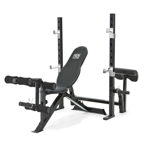 Marcy Pro 2pc Olympic Bench Pm 842 Quality Strength Products