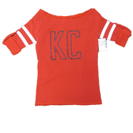 KC Block Open Neck Sweatshirt