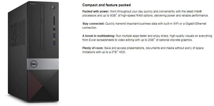 New Dell Vostro 3250 Computer i5-6400 Windows 10 Pro - Discount ...