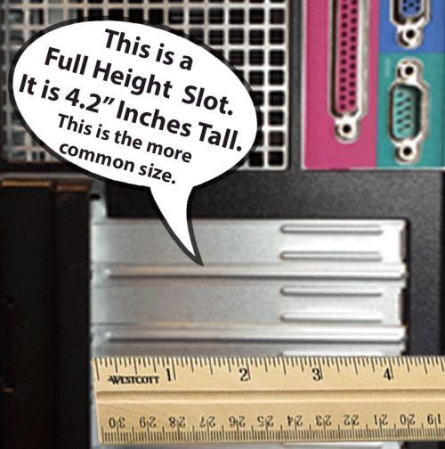 Full height PCI Wireless Card