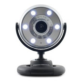 Gear Head 1.3MP USB 2.0 Webcam with Microphone