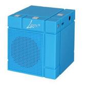 Lyrix Mixx Bluetooth 3.0 MP3 Speaker Portable Blue