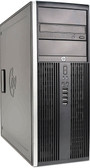 HP 8000 Elite Tower Computer Windows 7 or 10
