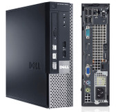 Dell Optiplex 9020 i5 USFF Computer Windows 7 Pro