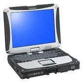 Panasonic CF-19 Toughbook Touch Screen i5  Windows 7