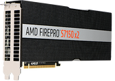 AMD FirePro s7150x2 The AMD FirePro™ S7150 x2 server GPU with Multiuser GPU technology delivers virtualized graphics that enable a simple, secure and cost effective solution for high performance virtual workstations.