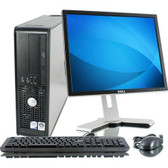 "Dell - Refurbished - 19"" Optiplex Desktop Computer - 4GB Memory"