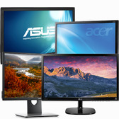 "Cheap Miscellaneous Refurbished 24"" LCD LED Monitors"