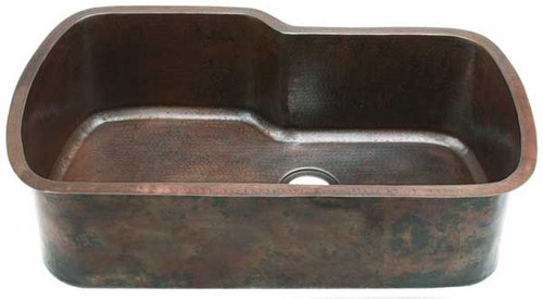 Custom Copper Kitchen Sinks