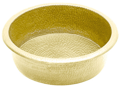 Brass Pedicure Bowl