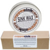 Sink wax and silicone