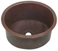 DBV16-Dark copper drum sink