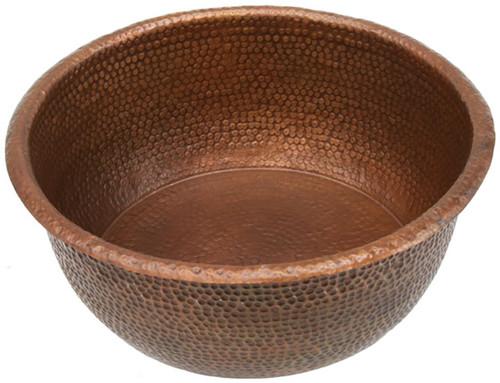 20 Quot Copper Pedicure Bowl Copper Sinks Direct
