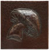 Mushroom copper tile
