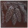 pinecone copper tile