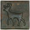 deer design copper tile