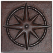 Western Star design copper tile