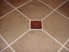 2x2 copper tiles in counter top application