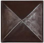 Triangle design copper tile