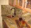 SBV15-Square copper bar sink install