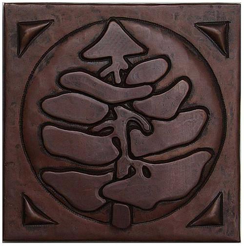Pine Tree Copper Tile TL217