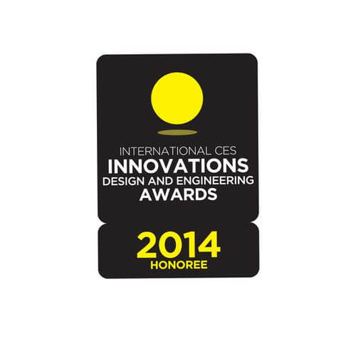 2014 CONSUMER ELECTRONICS SHOW INNOVATION AWARD!